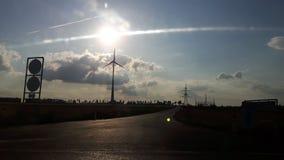 Czarny słońce Zdjęcia Stock