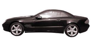 czarny samochód Obraz Stock