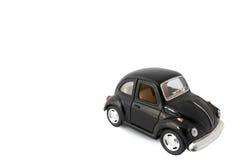 czarny samochód wzorcowa zabawka Zdjęcie Royalty Free
