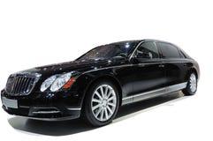 czarny samochodowy luksus Fotografia Stock