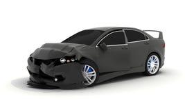 czarny samochodowy przyduszenie royalty ilustracja