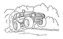 czarny samochodowy sport Zdjęcie Stock
