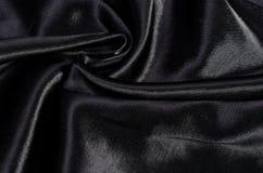 czarny satin Fotografia Royalty Free