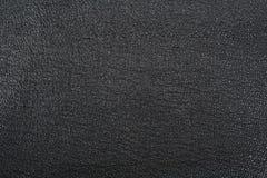 czarny skóra Fotografia Royalty Free