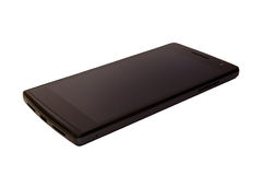 Czarny smartphone Obrazy Stock