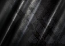 Czarny stalowy tło Zdjęcie Royalty Free