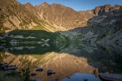 Czarny Staw Gasienicowy Black Pond. Tatra Mountains . Poland. Czarny Staw Gasienicowy Black Pond. Tatra Mountains . Poland Stock Photos
