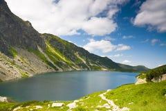 Czarny Staw Gasienicowy, Tatras-Berg, Polen Stockfotografie