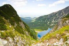 Czarny Staw Gasienicowy, Tatras-Berg, Polen Lizenzfreies Stockbild