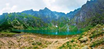 Czarny Staw in Tatry. Lake in mountains. Czarny Staw in Tatry royalty free stock image