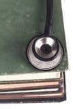 Czarny Stehoscope zbliżenie Zdjęcie Stock