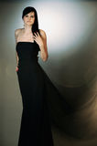 czarny suknia obraz royalty free