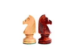 czarny szachowy biel Obraz Stock