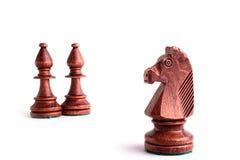 czarny szachy Fotografia Royalty Free