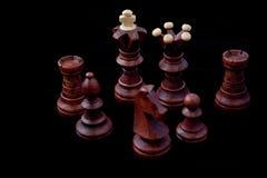 czarny szachy Zdjęcie Stock