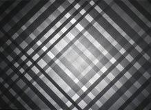 Czarny szarość stołu wzór Obrazy Stock