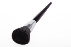 Czarny szczotkarski makeup obrazy stock