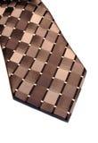 czarny szyi krawat srebra Zdjęcie Stock