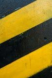czarny tła kolor żółty Zdjęcia Royalty Free