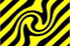 czarny tła kolor żółty Fotografia Royalty Free