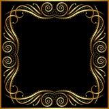 Czarny tło Obraz Stock