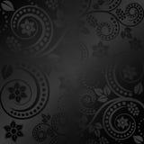 Czarny tło Fotografia Stock