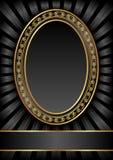 Czarny tło Obrazy Royalty Free
