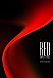 czarny tło czerwień Obrazy Stock