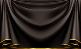 czarny tło luksus Fotografia Stock