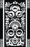 czarny tło biel Zdjęcia Royalty Free