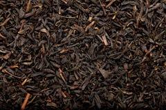 czarny tło herbata Obrazy Royalty Free