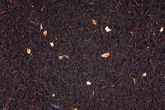 czarny tło herbata Zdjęcie Royalty Free