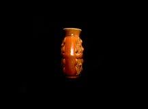 czarny tło waza Fotografia Stock