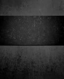 Czarny tło z wielkim ciemnego czerni faborku centrum Obrazy Royalty Free