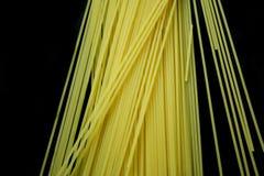 czarny tła spagetti Obraz Royalty Free