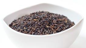 czarny thai ryżu Zdjęcia Royalty Free