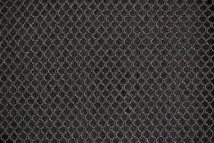 czarny tkaniny nylonowa tekstura Zdjęcia Royalty Free