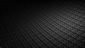 Czarny tło robić lego bloki Zdjęcia Royalty Free