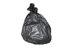 Czarny torba śmieci Obraz Royalty Free