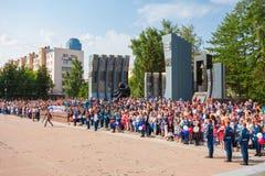 Czarny Tulipanowy Wojenny pomnik Zdjęcia Stock