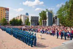 Czarny Tulipanowy Wojenny pomnik Obraz Stock