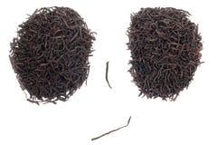 czarny twarzy herbata Obrazy Stock