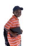 czarny uczeń Fotografia Royalty Free