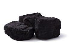 Czarny węgiel zdjęcie stock