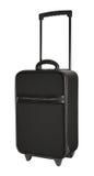 Czarny walizka Zdjęcie Royalty Free