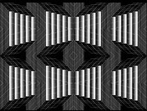 czarny white greaser Wzory ilustracja wektor