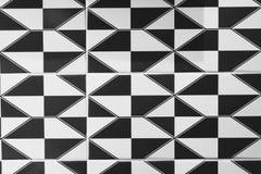 czarny white wzoru Fotografia Royalty Free