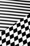 czarny white wzoru Obrazy Stock