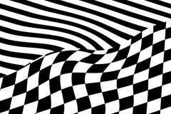czarny white wzoru Fotografia Stock