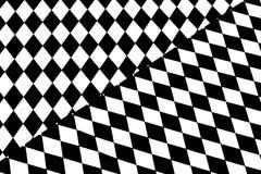czarny white wzoru Zdjęcie Stock